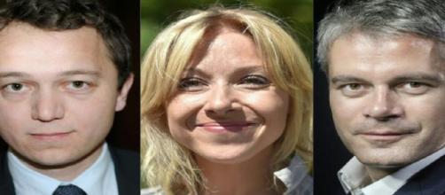 Les trois candidats à la présidences des Républicains