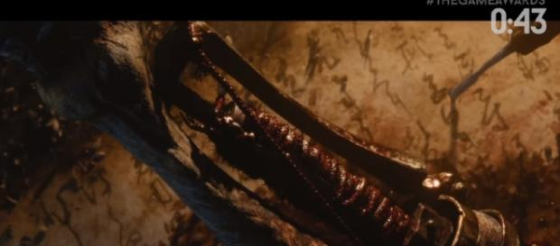 New From Software game image from trailer. - [Image Credit: MKIceAndFire/YouTube screenshot]