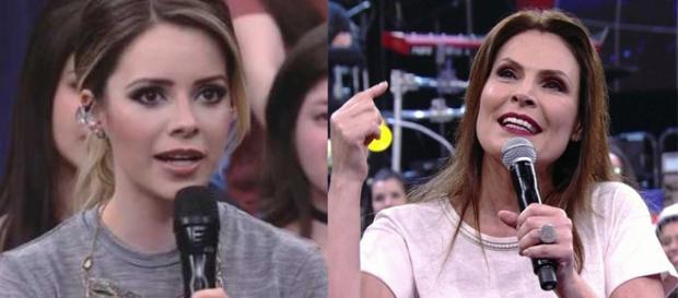 Laura questionou Sandy sobre um novo bebê ( Reprodução - Globo )