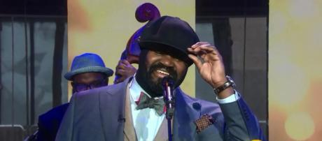 Gregory Porter brought his own stylistic imprint to 'The Christmas Song' on 'Today' show. - [Today / YouTube screencap]