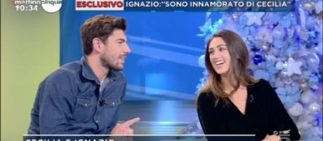 Ignazio e Cecilia ospiti di Mattino 5