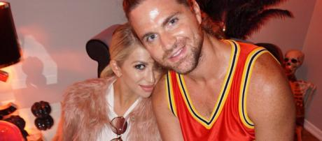 Stassi Schroeder and Patrick Meagher on Halloween. [Photo via Facebook]