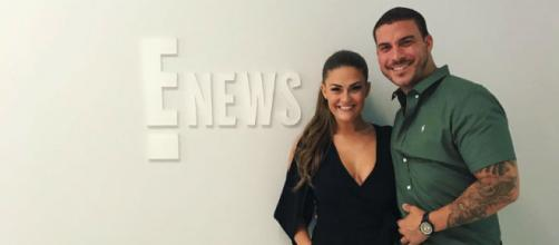 Brittany Cartwright visits E! News with Jax Taylor. [Photo via Instagram]