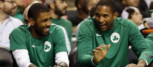 CELTICS: Kyrie Irving, Al Horford building chemistry - Sports ... - patriotledger.com