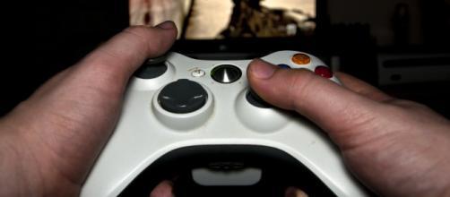 Gamer playing video games -- Luke Hayfield/Flickr.