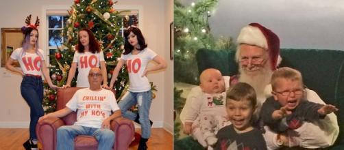 Hilarious Christmas cards. Image Credit: Blasting News