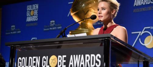 Kristen Bell anuncia la lista de nominados a los Globos de Oro 2018