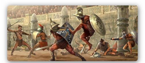 Los espectáculos en el coliseo romano