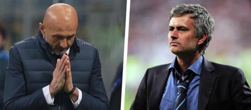 Mourinho e il confronto con Spalletti