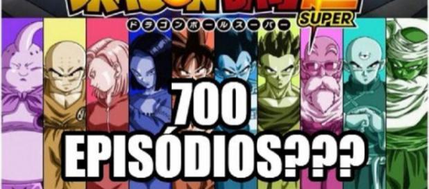 700 é uma referência a 7 esferas do dragão