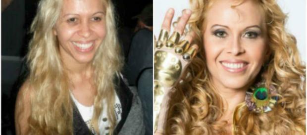 Algumas famosas sem maquiagem assustam