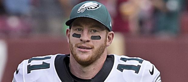 Carson Wentz threw for 3,296 yards and 33 touchdowns this season. - [Image Credit: Merson/ Wikimedia Commons]