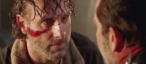 How will Negan's actions change Rick on Walking Dead? - digitalspy.com
