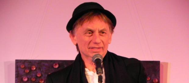 Krzysztof Tyniec podczas koncertu w Ostrowcu Świętokrzyskim (fot. Krzysztof Krzak)