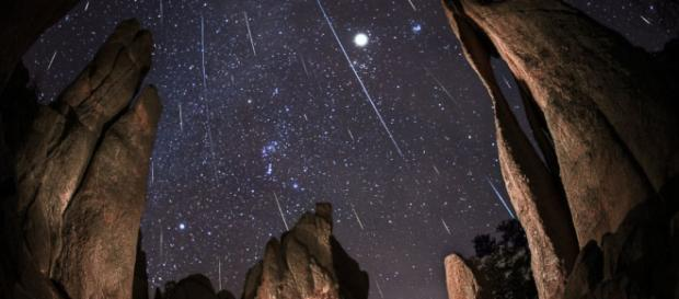 Make sure to look for the meteors in a dark, open space. (go.com)