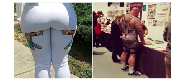 Nem sempre as pessoas conseguem seguir a moda