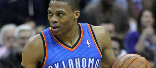 Russell Westbrook scores 30 in loss. (Wikimedia Commons - Keith Allison)