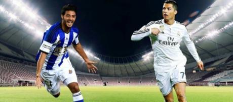 Carlos Vela y Cristiano Ronaldo al mismo equipo