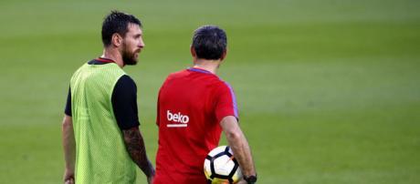 El fichaje que ha pedido Valverde y que desata una guerra con Messi