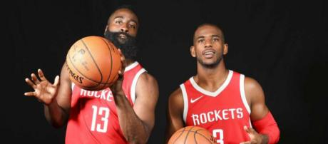 Rockets' James Harden, Chris Paul blend leadership skills ... - houstonchronicle.com