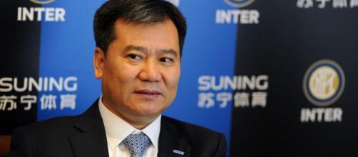 Cina, Zhang Jindong personaggio sportivo dell'anno. Per Suning ... - fcinter1908.it