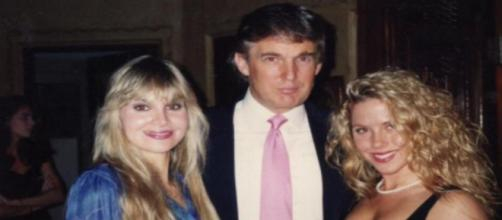 Donald Trump and his accusers, via Twitter