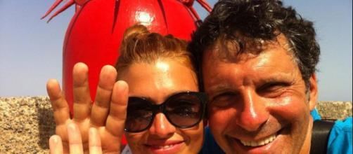 Fabrizio Frizzi con la sua Carlotta