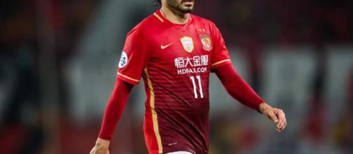 Ricardo Goulart, ex-Cruzeiro e hoje ídolo do Guangzhou Evergrande.