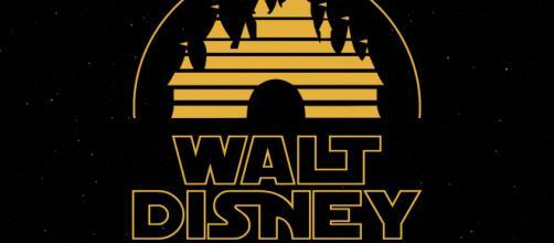 Star Wars inspired Walt Disney logo [Image Credit: Ivan/Flickr]