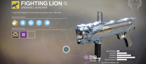 The Fighting Lion in 'Destiny 2.' - [YouTube / Unknown Player screencap]