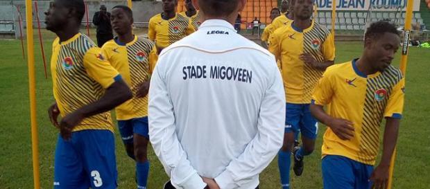 Alex JURAIN, entraîneur de football au Gabon