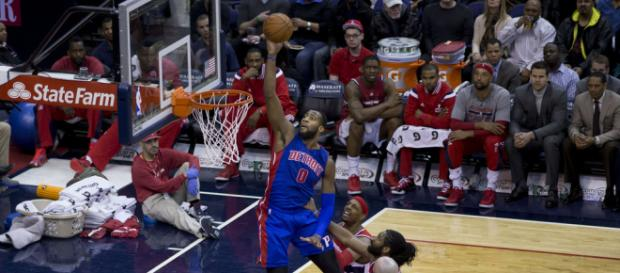 Andre Drummond needs to help end the Pistons' six-game losing streak. (via Flickr - Keith Allison)
