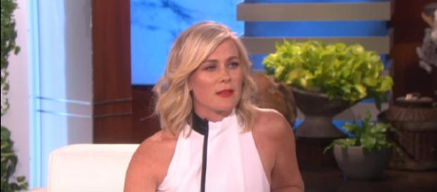 'Days of our Lives' Alison Sweeney. (Image via The Ellen Show/YouTube screengrab)