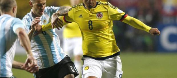 El jugador colombiano tiene en riesgo su participación en Rusia 2018.