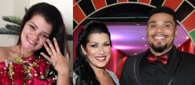 Ex-mulher de Naldo, Branka Silva, quebra o silêncio e revela que também apanhava do cantor