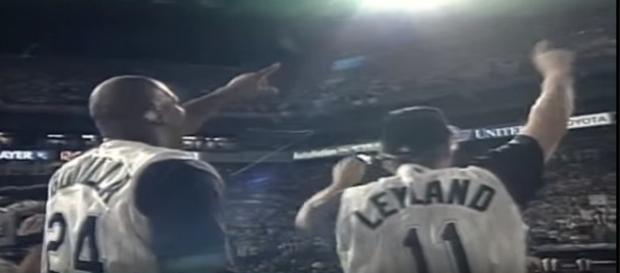 Marlins celebrating 1997 World Series win - image - MLBClassics / YouTube