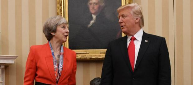 Theresa May confirms Donald Trump's state visit to the UK in a ... - thesun.co.uk