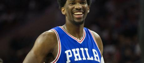 Joel Embiid nailed a half-court shot and danced at practice after ... - usatoday.com