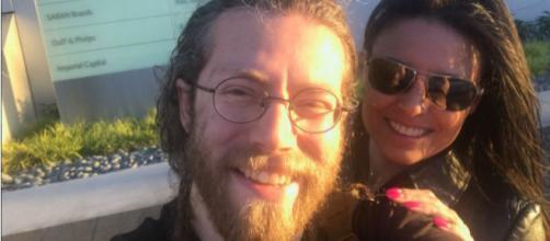 Alaskan Bush People's Bam Bam Brown with girlfriend Allison Kagan. (Bam Bam Brown/Twitter)