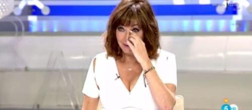 Ana Rosa Quintana rompe a llorar en directo.