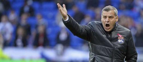 Bruno Genesio n'est plus un coach lisse (DR).