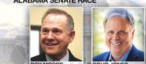 Doug Jones beat Roy Moore. - [CBS News / YouTube screencap]