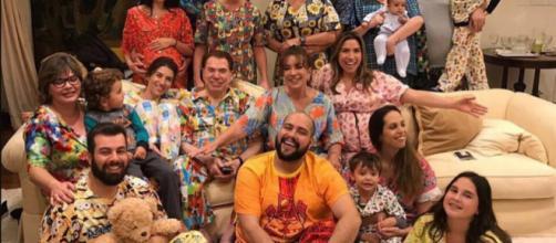 Família faz festa temática para o dono do SBT