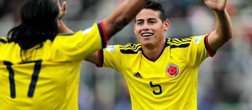 James Rodríguez selección de Colombia
