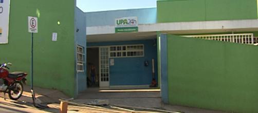 Meninas foram socorridas na UPA de Nova Serrana. (Foto: Reprodução TV Integração).
