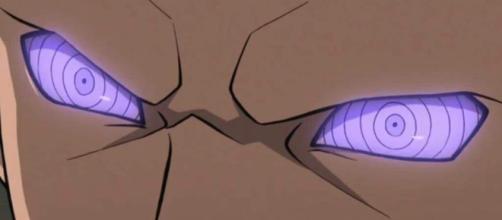 El Doujutsu Rinnegan de los dioses poderosos.