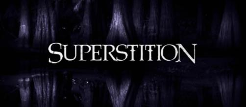 SYFY's 'Superstition' title card (Source: TV Promo 360/YouTube Screencap)