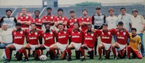 Time da Portuguesa, campeão em 1991