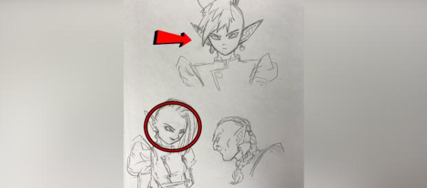 Akira Toriyama reveals 3 new exclusive characters [Credit: Twitter / DBSuperOK]