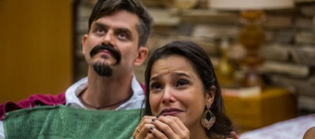 Emilly Araújo e Marcos comentam situação atual dos dois